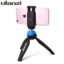 Ulanzi Portable Table Tripod with Phone Mount for Video Bloggers Travellers Filmmaker Youtube Video Streaming for iPhone Andriod