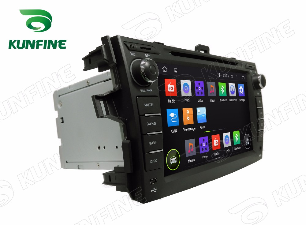 Car dvd GPS Navigation player for COROLLA  2006-2011 8 inch C