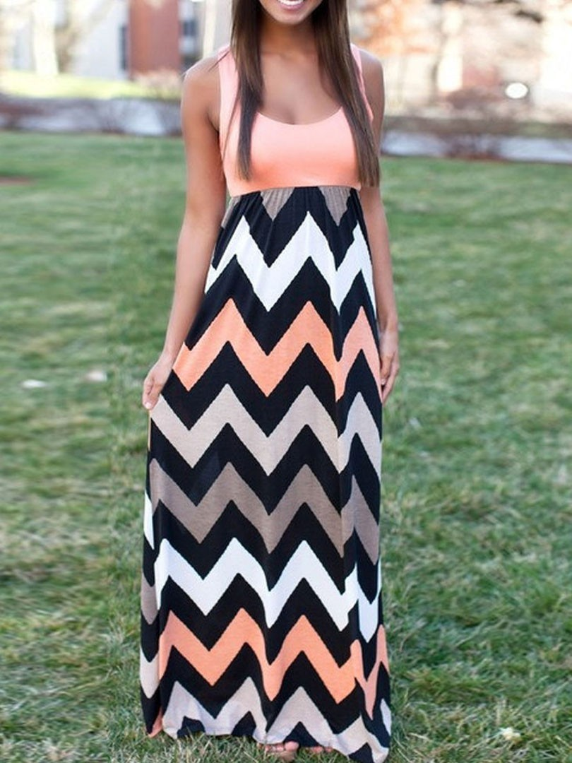Compare Prices on Chevron Maxi Skirt- Online Shopping/Buy Low ...