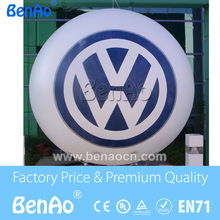 AO068 DHL+printing &Inflatable helium balloon with brand logo/ 0.18mm PVC  Helium balloon  Advertising  PVC balloon