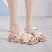 Fashion Women Sandals For 2019 Breathable Comfort Shopping Ladies Walking Shoes Summer Platform Black Sandal
