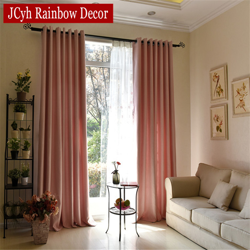 Baby Blue Kitchen Accessories: Soild Home Decor Blackout Curtains For Living Room Bedroom