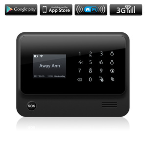 Image 5 - Fuers G90B 3G 2.4G WiFi GSM SMS Wireless 433MHZ Home Security System IOS Android APP Remote Control alarm kit