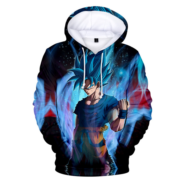 3D DRAGON BALL THEMED HOODIE (26 VARIAN)