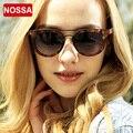 NOSSA Moda Óculos Óculos Óculos de Proteção UV400 óculos de Sol das Mulheres do Sexo Feminino Na Moda Óculos de Sol de Luxo Da Marca