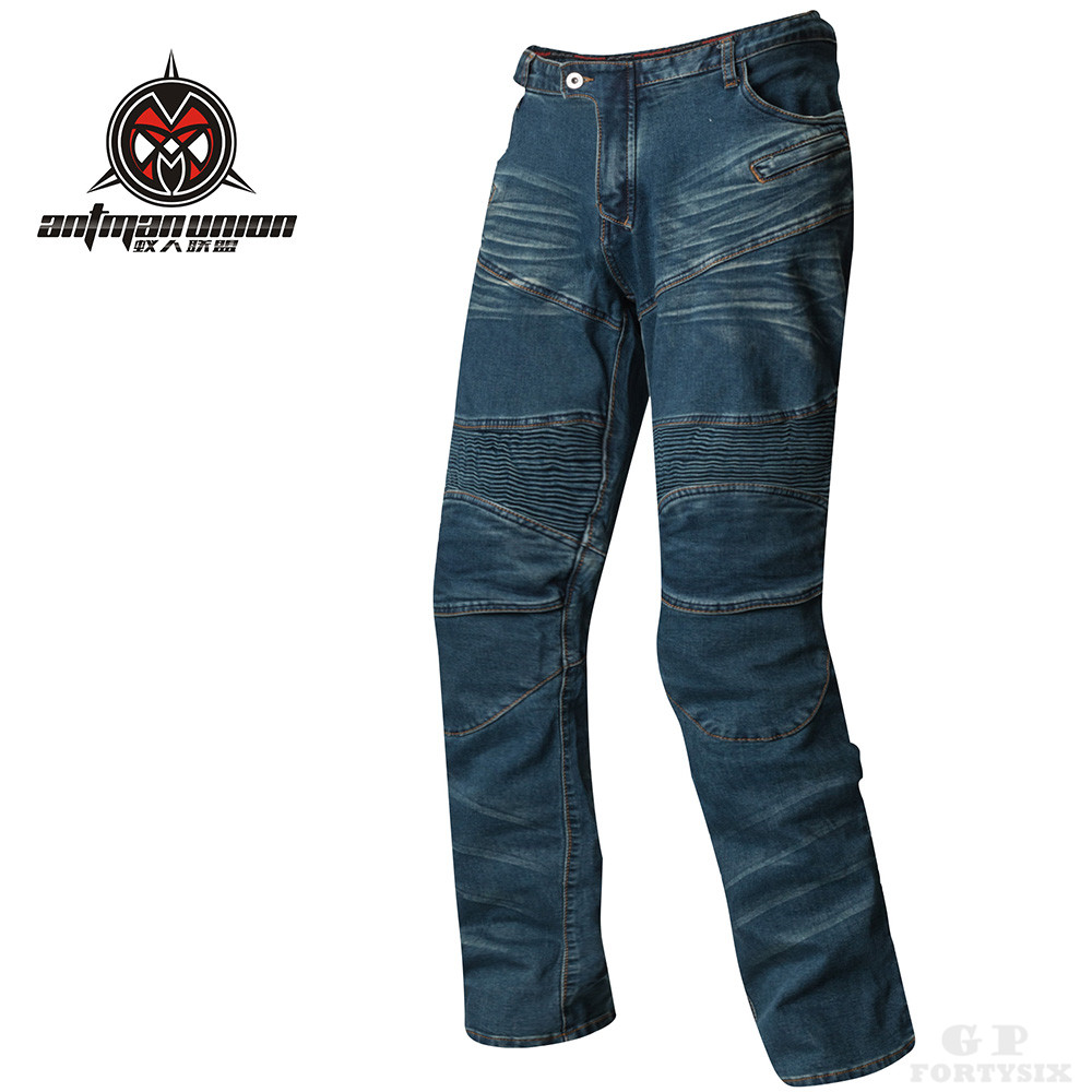 PK 718 Motorcycle Riding jeans Protective Pants With Hips Pads Motocross Cycling Denim Pants Knee Protector Off road Jean S 3XL