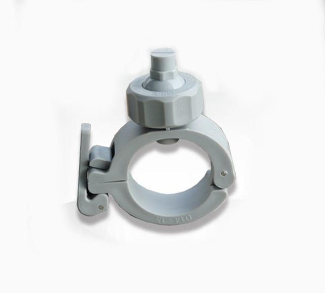 1 inch pipe clip clamping spray nozzle flat fan shape
