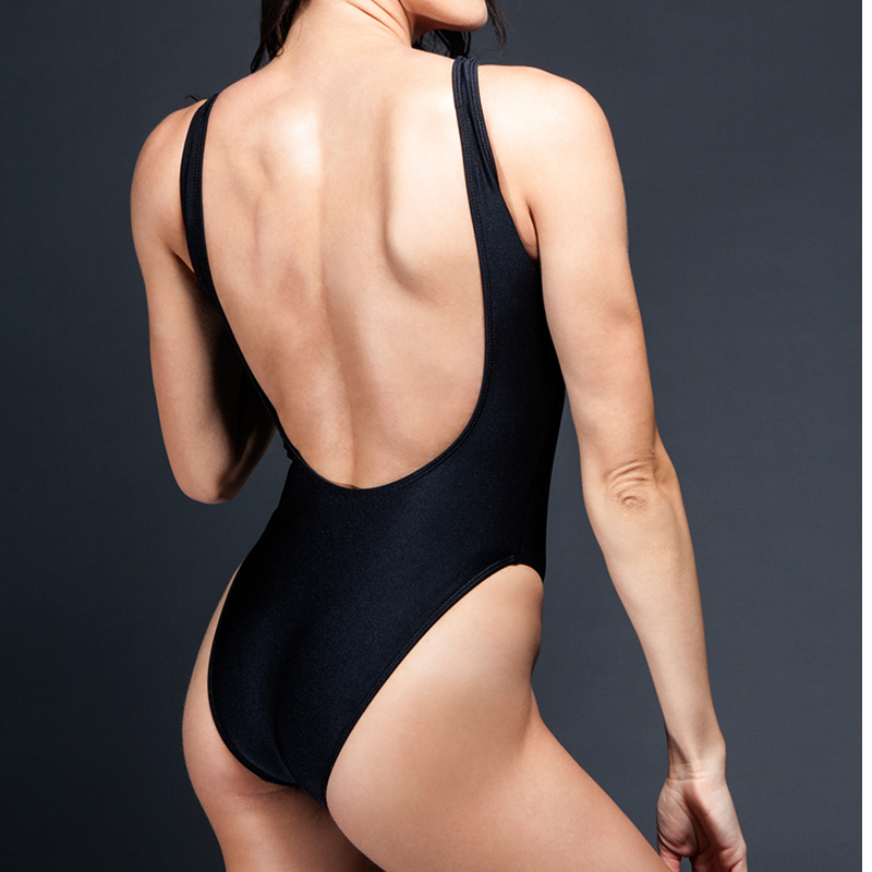 fuego black swimsuit one piece 3