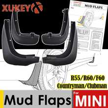 Xukey Car Mud Flaps For Mini Countryman F60 R60 Cooper Clubman R55 2008 - 2018 Mudflaps Mud Flap Splash Guard 2016 Front Rear - DISCOUNT ITEM  55% OFF Automobiles & Motorcycles