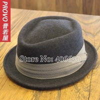 Winter Wool Felt Fedora Hats For Men Chapeu Panama Dress Mens Jazz Hats Free Shipping