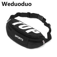 Weduoduo 2019 men waterproof fanny pack Casual Men Waist Bags Fashion Women Shoulder Bag Pouch Nylon Belt bag Hip