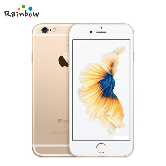 Original Apple iPhone 6s 4G LTE IOS Cellphone Dual Core 2GB RAM 4.7 inch Screen with 12MP Rear Camera 5MP Front Camera 2
