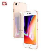 Разблокированный Apple iPhone 8 2 Гб ОЗУ 64 Гб/256 Гб ПЗУ выглядит как 4,7 дюймов шестиядерный сенсорный ID LTE 12,0 M бесплатный подарок телефон