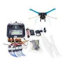 цена на DIY GPS Drone Multi-Rotor Frame Kit S500-PCB APM2.8 Flysky 2.4G FS-i6 Transmitter Motor ESC NO Battery Charger  F08191-G