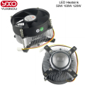 Hot 20W 30W 50w 100w high power led heatsink DC 12V led cooling fan led high power LED bulb radiator