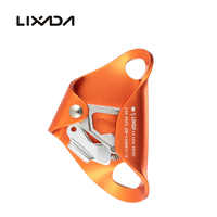 Lixada 4KN Aluminum Alloy Chest Ascender for 8mm-13mm Rope Rock Rappelling Climbing Caving Smooth Rescue Gear Equipment Ascent