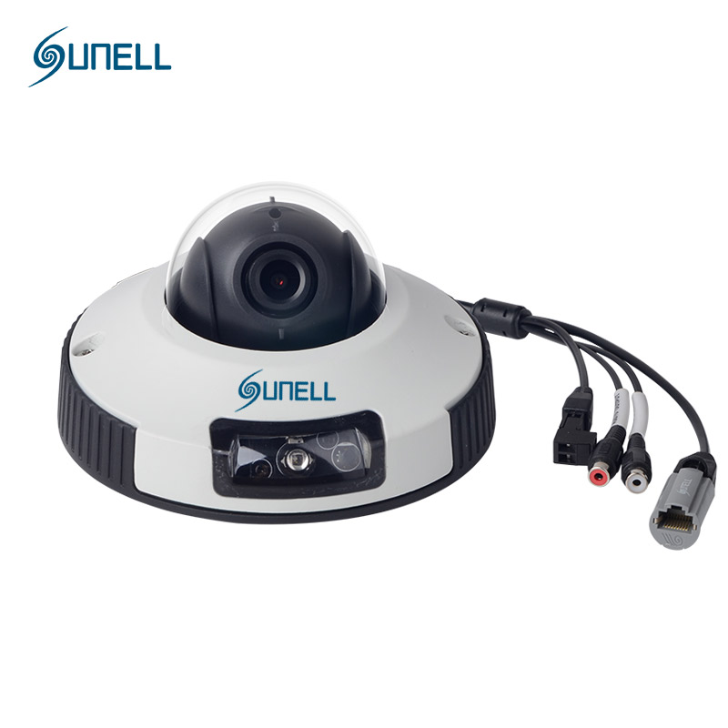 SUNELL Brand Mini Dome Camera Indoor 720P with IR POE 2.8MM 3.6MM Lens New Security IP Camera E4ZD Vandal-proof CMOS Hot Sale hkes wholesale 8pcs lot free shipping indoor ir dome ip camera with microphone