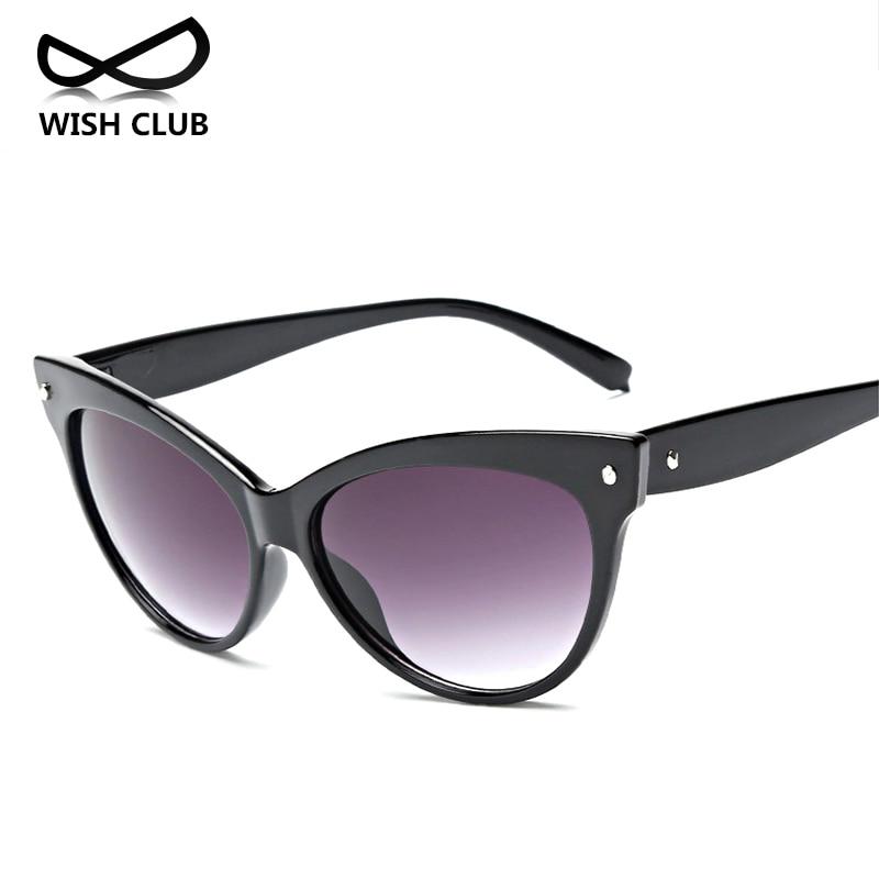 WISH CLUB 2017 Fashion Cat Eye Sunglasses Women Brand ...