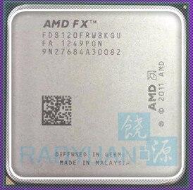 AMD FX-Series FX-8120 FX 8120 3.1 GHz Eight-Core CPU Processor 125W FX8120 FD8120FRW8KGU Socket AM3+