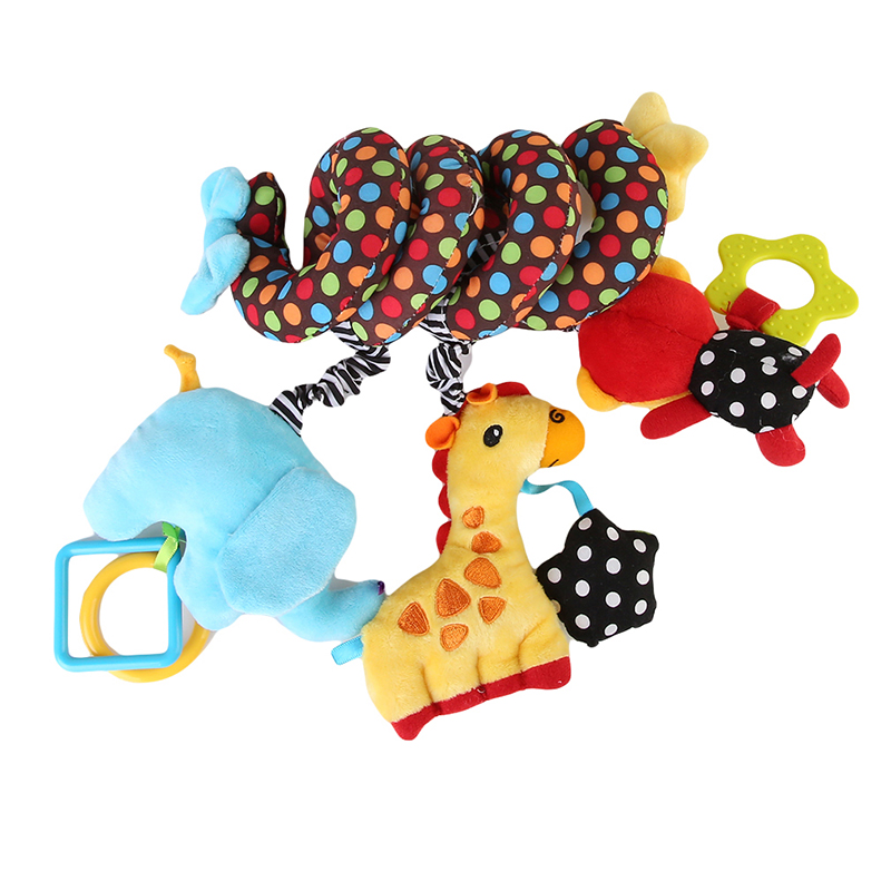 Crib Toys Learning : Hanging and rattling crib toy for baby free shipping