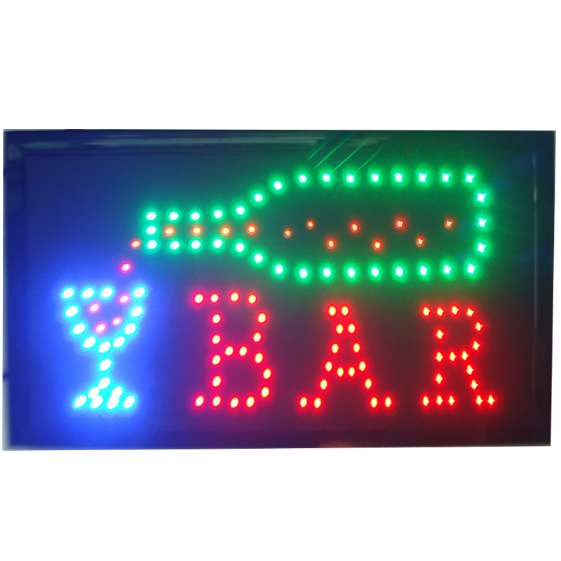 CHENXI LED Bar Beer Open Shop Sign Plastic 10x19 inch indoor Animated of Pub Bar Beer Shop LED Electric SignCHENXI LED Bar Beer Open Shop Sign Plastic 10x19 inch indoor Animated of Pub Bar Beer Shop LED Electric Sign