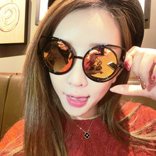 Ladies Cat Eye Sunglasses Women Sun glasses Alloy Frame UV400 Protection Brand Designer Retro eye SunGlasses