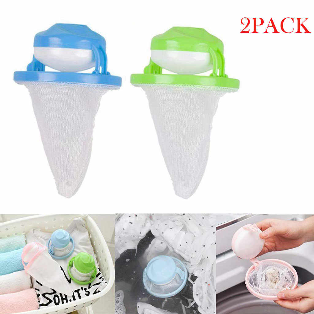 Hair Removal Catcher Filter Mesh Pouch Cleaning Balls Dirty Fiber Collector Filter Mesh Pouch Washing Machine Filter Suit L0613