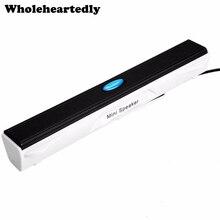 Проводной Мини Портативный USB динамик музыкальный плеер Усилитель Громкоговоритель стерео звуковая коробка для компьютера Настольный ПК ноутбук