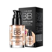 цена на ROREC Whitening BB Cream Skin Care sun Block Long Lasting Moisturizing Concealer brighten Base Foundation Face Makeup Cream