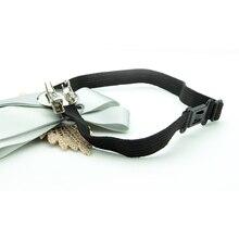 Ribbon Brooches Rhinestone Inlay 9*14CM Elastic Band Brooch Accessories