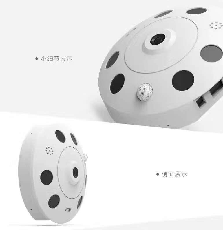 360 Degree VR Panorama Camera 960P Wireless Intercom Fish Eye IP Camera 960p 1 3mp 360 degree panorama camera wireless intercom ip camera