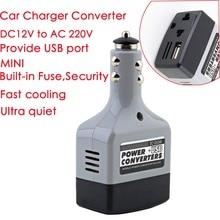 DC 12 V/24 V к переменному току 220V USB 6V автомобиль мобильный Мощность Инвертор адаптер автомобильный преобразователь питания Зарядное устройство используется для всех мобильных телефонов; горячая распродажа
