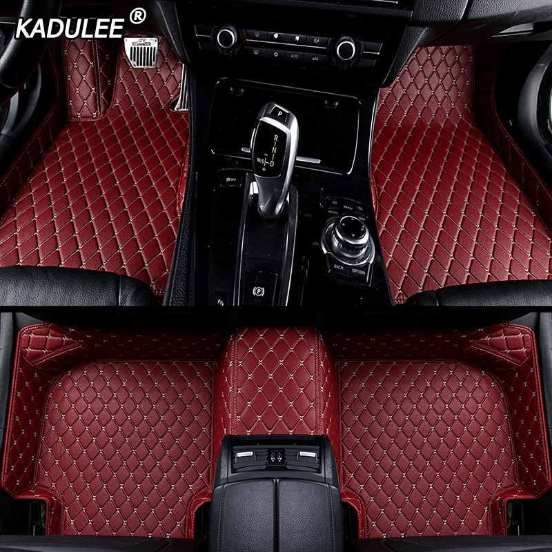 KADULEE Car-Floor-Foot-Mat Car-Accessories F-PACE F-TYPE Jaguar Xf Custom Styling-Make title=