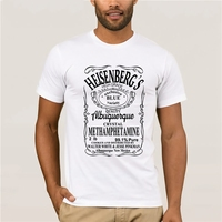 HanHent футболка с надписью Hermanos Man Breaking t-shirt Mannen Уолтер Вит Кук Топы Heisenberg Mannen топы тройники 2019 Zomer Mode Hot