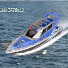 High speed RC boat 1:20 4 CH charging model toy 2875F police