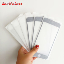 Full Protection Tempered Glass Screen Protector Film for IPhone 6 6s 7 8 Plus X 8plus 7plus Hardness Explosion Proof 10pcs/lot