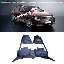 цена на Left Hand Drive! Car Floor Mat Pad 1set For Mercedes Benz S Class W221 2010-2013