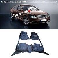 Left Hand Drive! Car Floor Mat Pad 1set For Mercedes Benz S Class W221 2010 2013