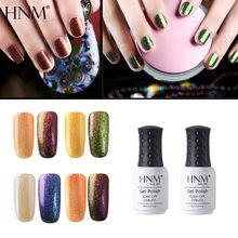 HNM 8ML Chameleon UV Gel Nail Polish Soak Off Semi Permanent LED Lamp Enamel Paint Art Gellak Magnetic Varnish Hybrid Lacquer(China)