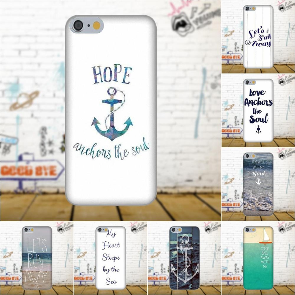 Lets Run Away Anchor Beach Quote Soft Phone Cases Cover For Galaxy A3 A5 A7 J1 J3 J5 J7 2016 2017 S5 S6 S7 S8 S9 edge Plus ...