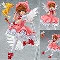 Sakura Figure Japan Anime Sakura Card Captor figma 244 Cardcaptor Magic Girl Sakura 16cm Action Figure SA689
