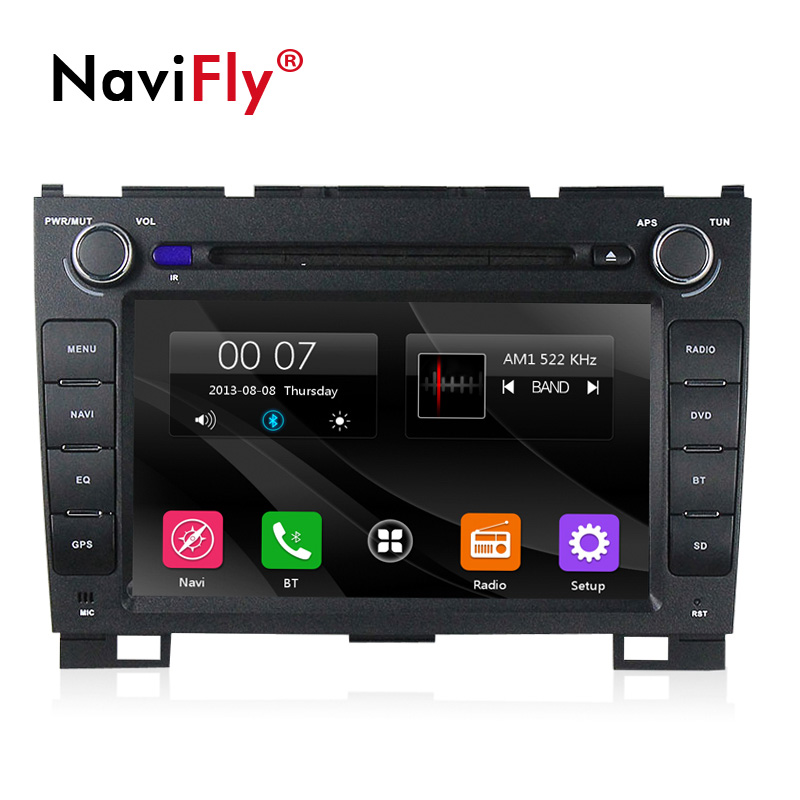 NaviFly 8 2 din font b Car b font dvd multimedia player For Great Wall GreatWall