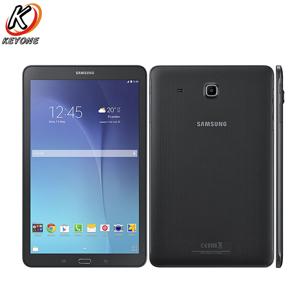 Original new Samsung GALAXY Tab E T560 WIFI Tablet PC 9.6 inch 1.5GB RAM 8GB ROM Quad Core Android dual camera 5000mAh USB PC rolsen ms 1770se