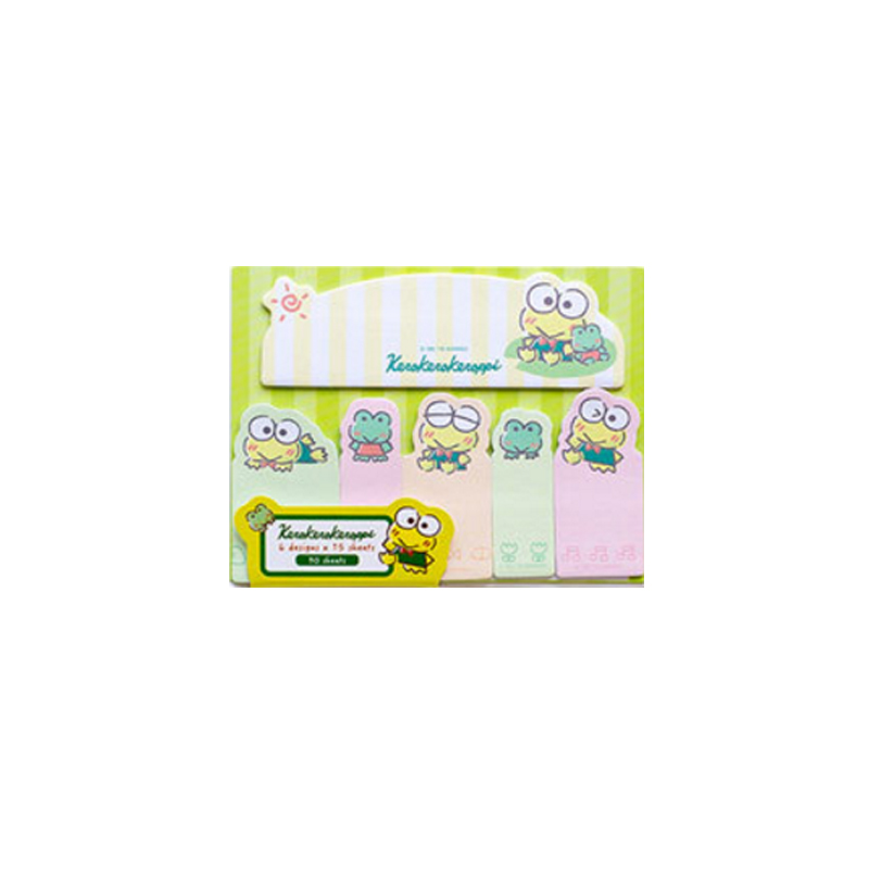 1pack lot Cute Cartoon Animals Index Mini Label Page Markers Memo Sticky Pad Note Notebook Label Sticker School Office Supplies in Memo Pads from Office School Supplies
