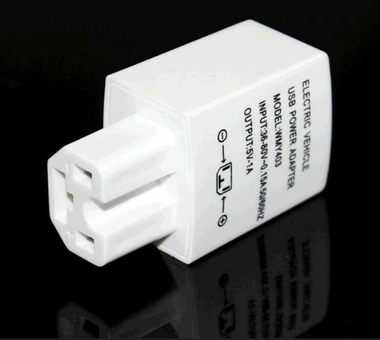 Electric Motorcycles mobile phone charger Electric bike Cell phone charger 36v 48v 60v 72v 84v input 5V output  for iphone6 etc