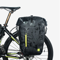 Rhinowalk 25L Cycling Bike Bags MTB Bike Rear Rack Bag Full Waterproof Multifunction Road Bicycle Pannier Rear Seat Trunk Bag