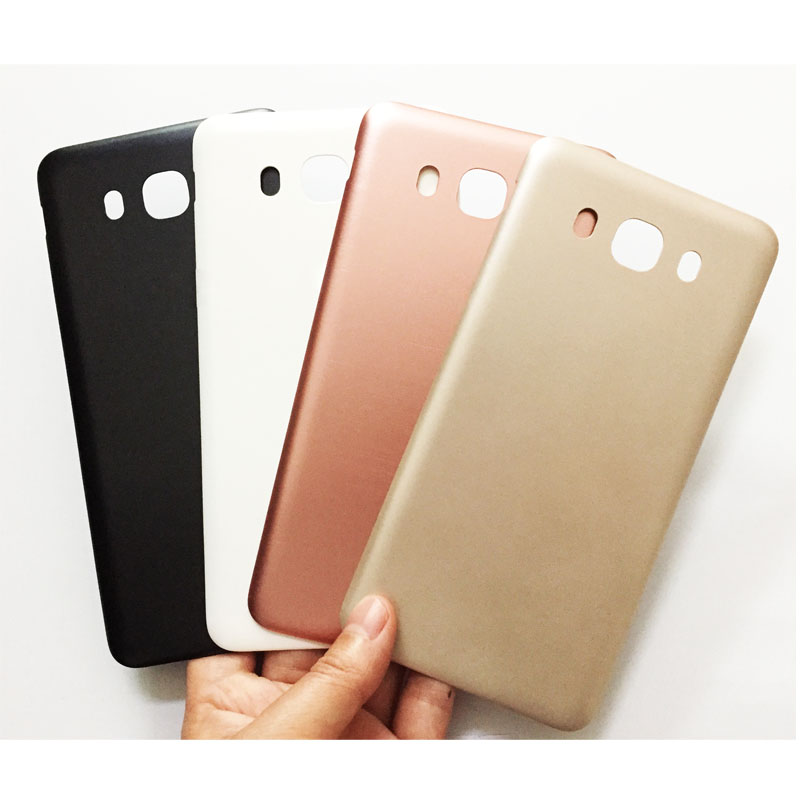 Original New Matte Back Cover Phone case For Samsung Galaxy J7 J710 2016 Back Mobile Phone Cover Cases Repair Parts