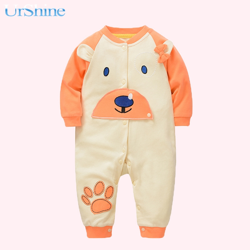 Baby Winter Rompers Cotton Fabric Baby Girl Boys Infant Overalls Kinds Clothing Thick Jumpsuit Newborn Clothes Toddler Costume