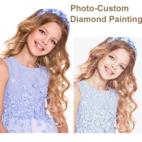 5D DIY Diamond Painting Private Custom Photo Custom Make Your Own Diamond Painting Full Drill Diamond