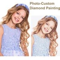 5D DIY Diamond Painting Private Custom Photo Custom Make Your Own Diamond Painting Full Drill Diamond